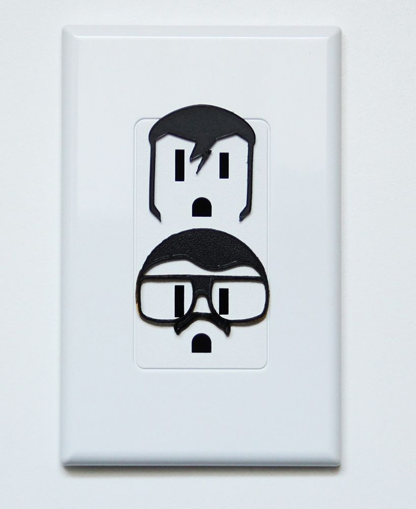 shockerz playful characters for sockets designboom