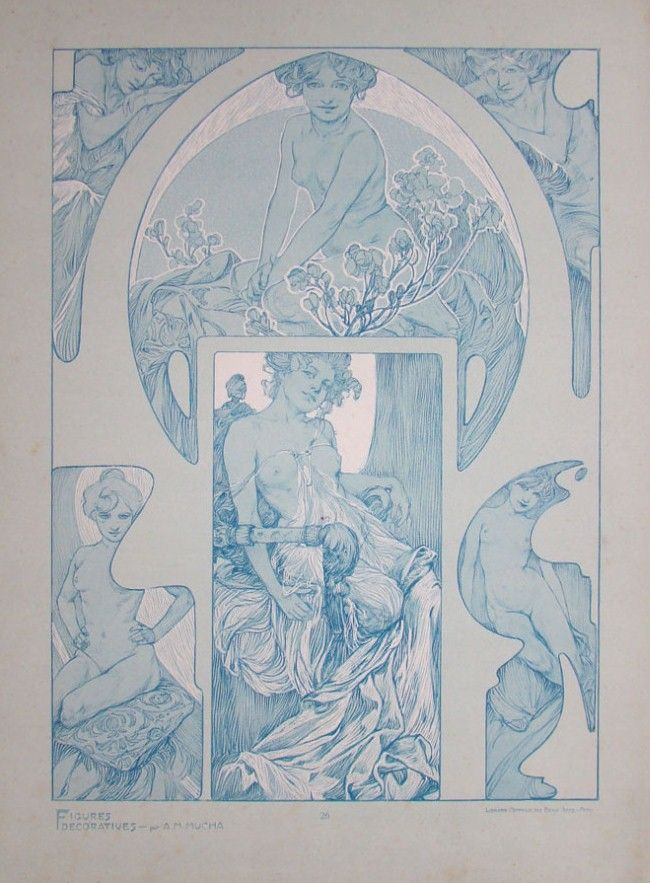 Documents Decoratifs by Alphonse Mucha, 190?