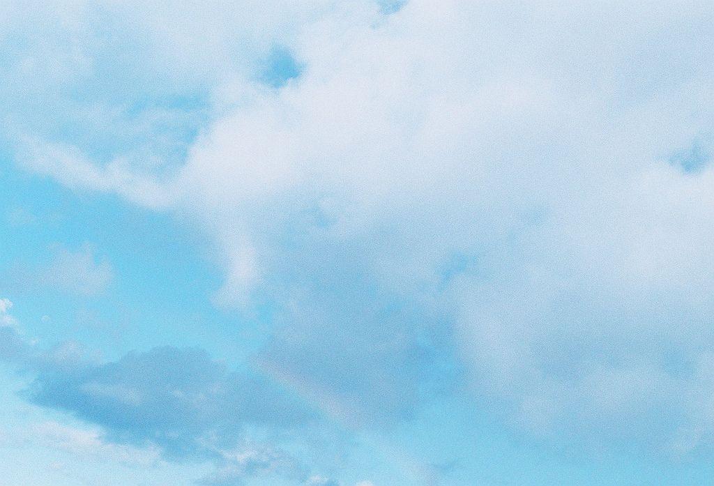 Rainbow Light Blue Aesthetic Blue Aesthetic Aesthetic Wallpapers