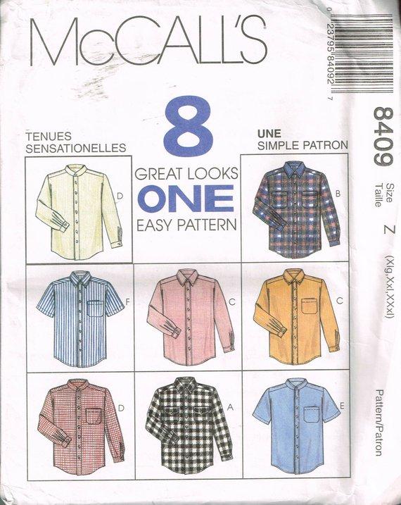 7728 Vintage McCalls SEWING Pattern Misses Set of Blouses OOP UNCUT Top Shirt