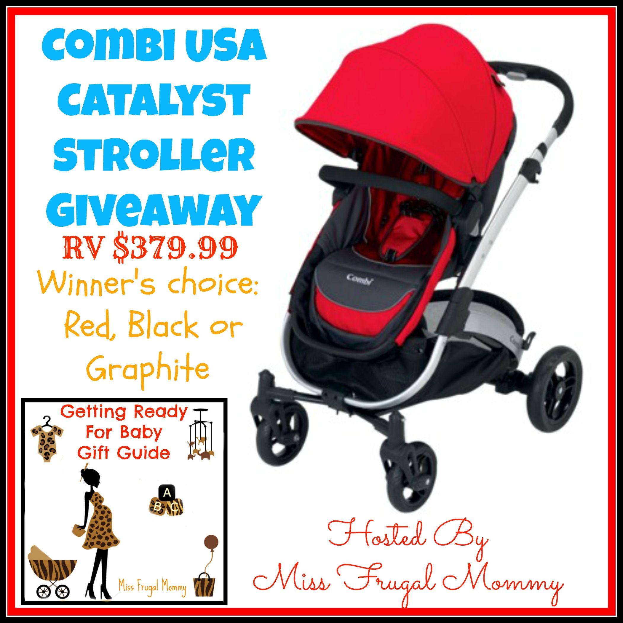 Combi Catalyst Stroller Giveaway... Toddler stroller