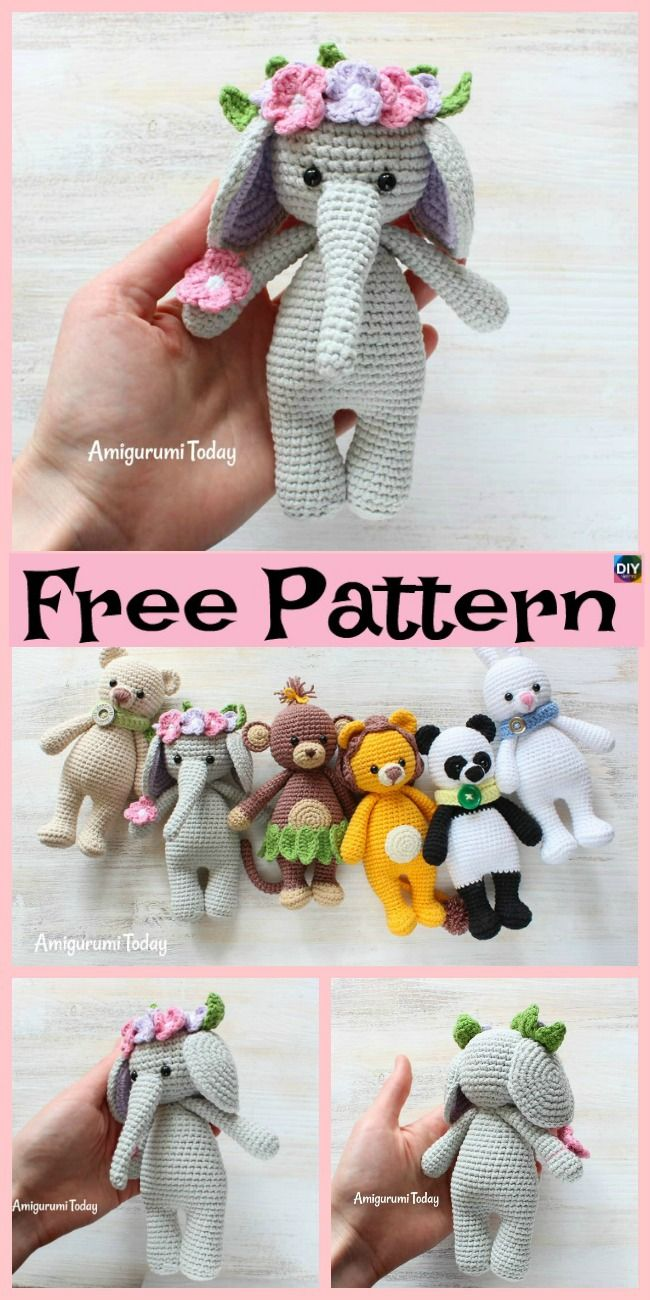 11 Amigurumi Dog Crochet Patterns – Cute Puppies in 2020 | Crochet ... | 1300x650