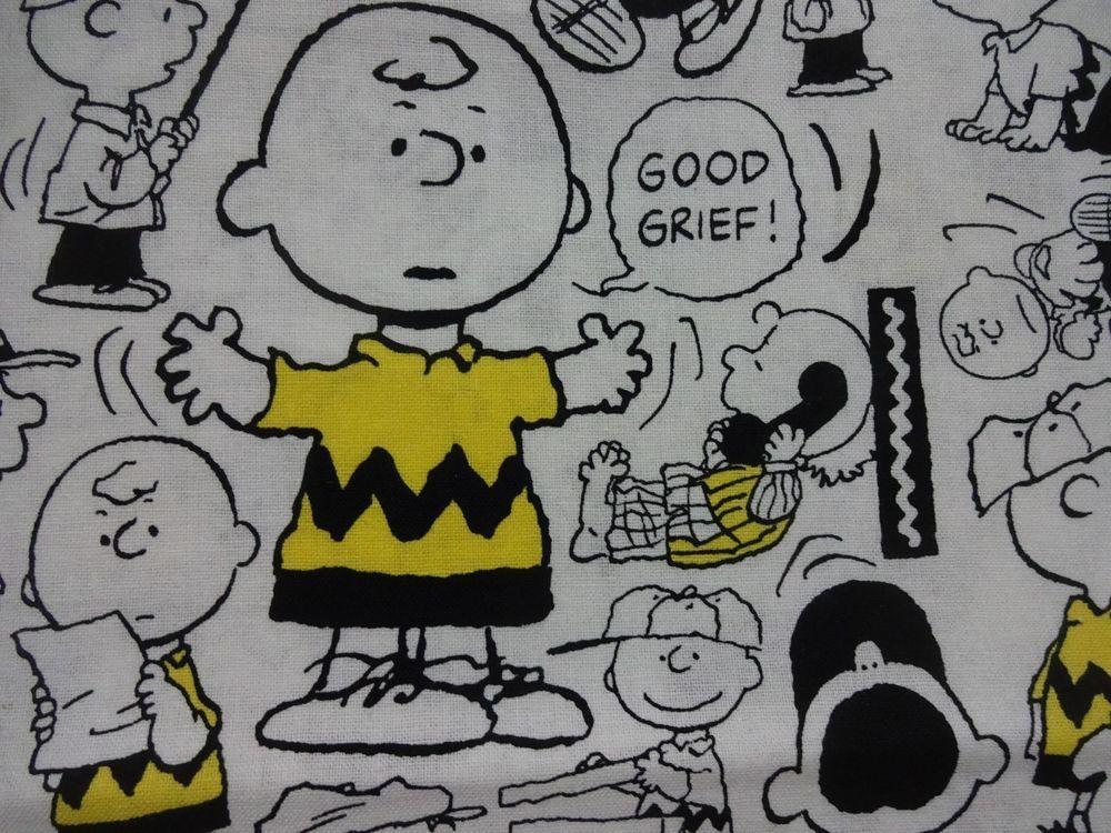 "Cool ""CHARLIE BROWN SPORTS"" Handmade Cotton Pillowcase Standard/Queen #Handmade #PeanutsCartoon"