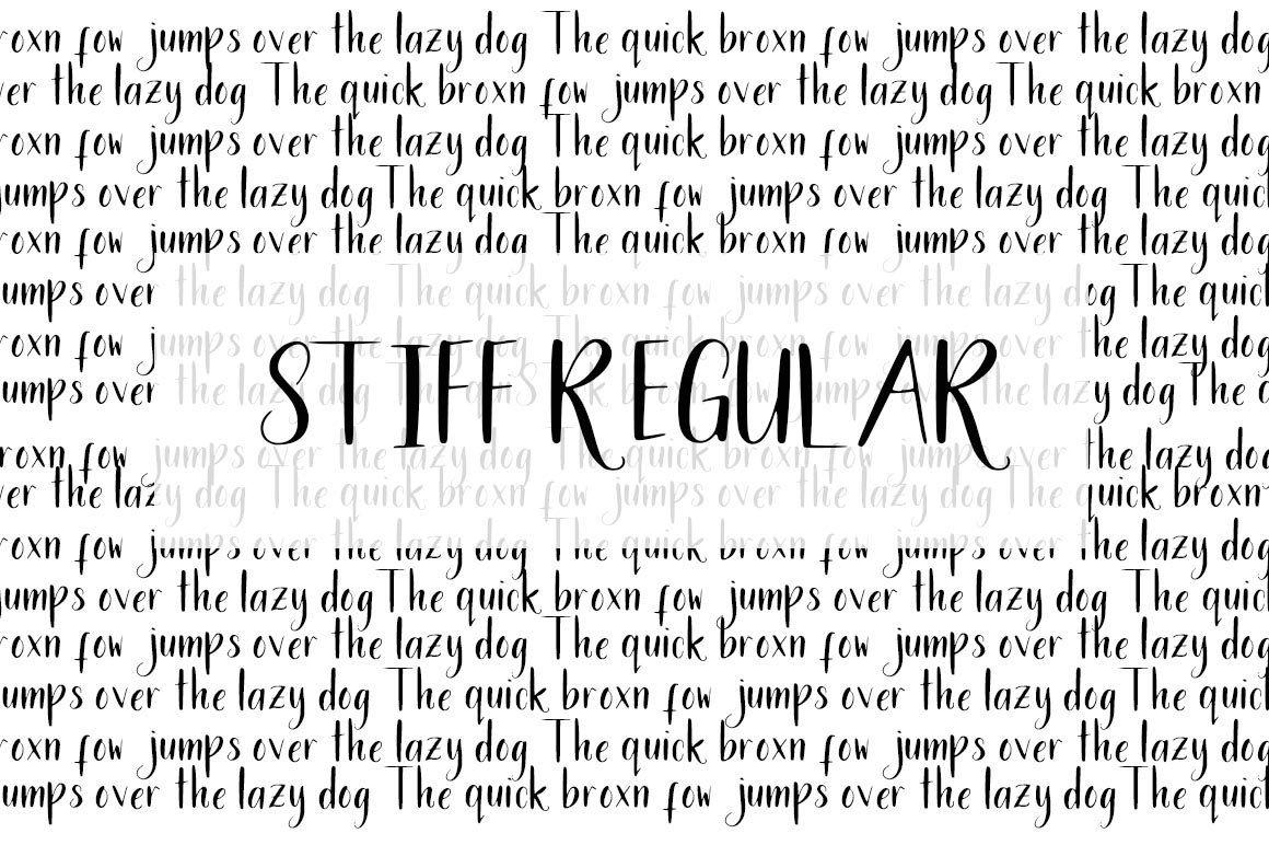 Stiff Regular Font Free fonts download, Design studio