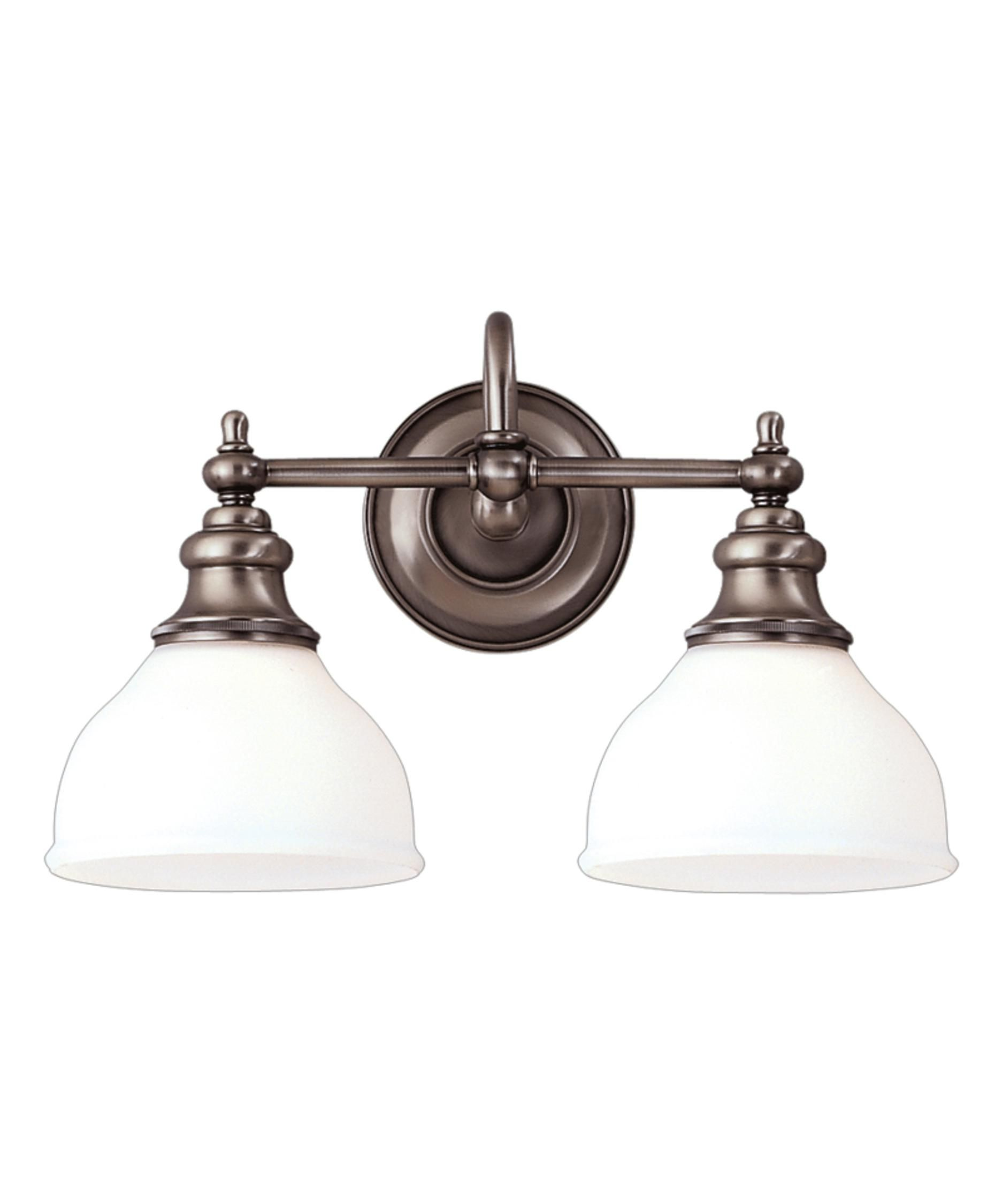 Hudson Valley Sutton 16 Inch Wide Bath Vanity Light  Hudson Prepossessing Vintage Bathroom Vanity Lights Design Ideas