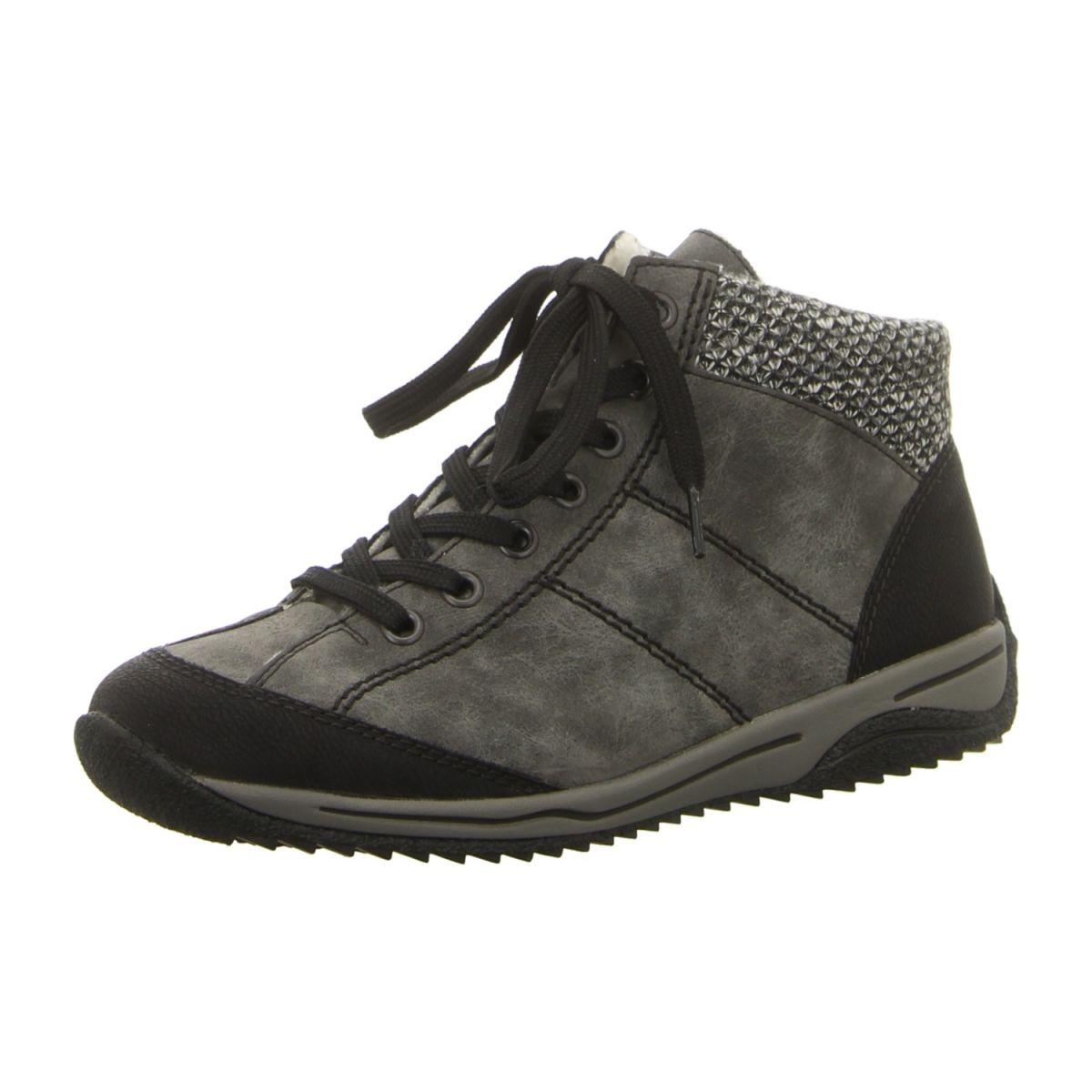 Rieker Schuhe Stiefelette 73222-45 grau kombi (grau) NEU
