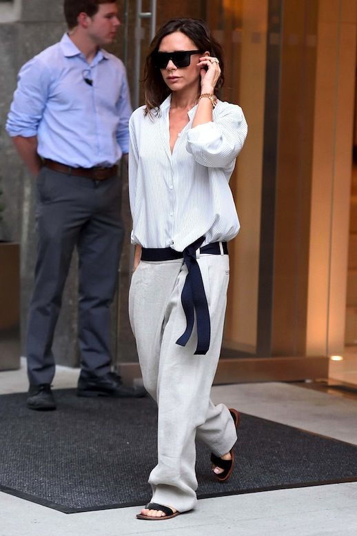 Get Victoria Beckham's Laid-Back Look From NYFW | Le Fashion | Bloglovin'