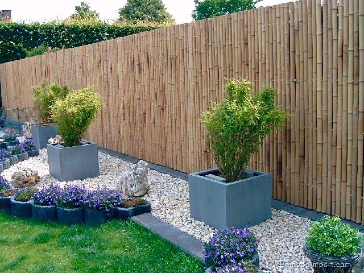 bamboo garden fences backyard fences