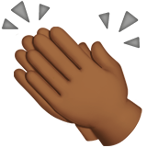 38++ Clapping hands clipart transparent info