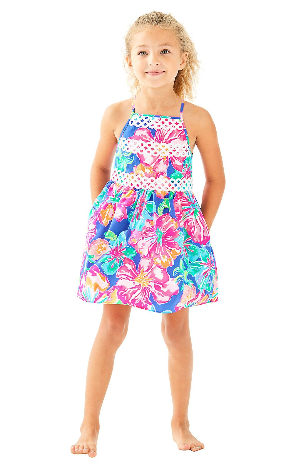 50b25d70e Girls Elize Dress | Products | Dresses, Summer dresses, Lilly pulitzer