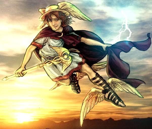 Hermes; the Messenger God | gods and goddesses | Pinterest | There ...
