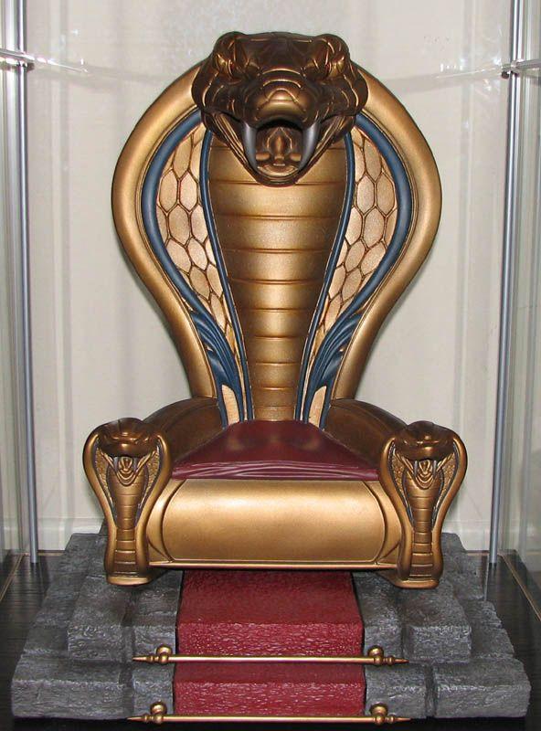 Gi Room Design: Sideshow Cobra Commander Snake Throne. They Used A Design