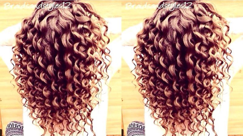 Thermal Curls Wand Used Curling Hair With Wand Curls For Long Hair Hair Tutorial