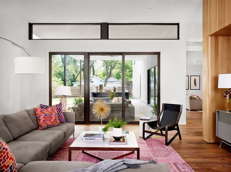 midcentury living room by Stuart Sampley Architect For the Home