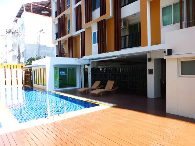 Apartment in City 1 bedroom, pool, Gym, security