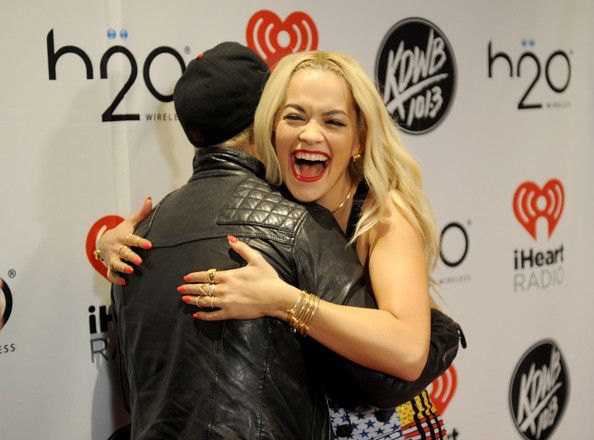 Peter Wentz and Rita Ora