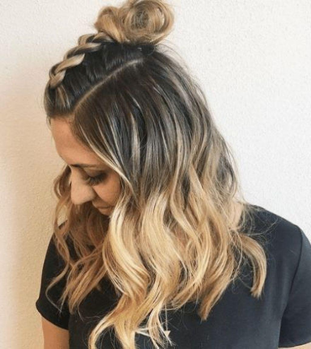 44 Inspiring Summer Hairstyle Ideas For Women Braided Hairstyles Easy Summer Hairstyles Stylish Hair