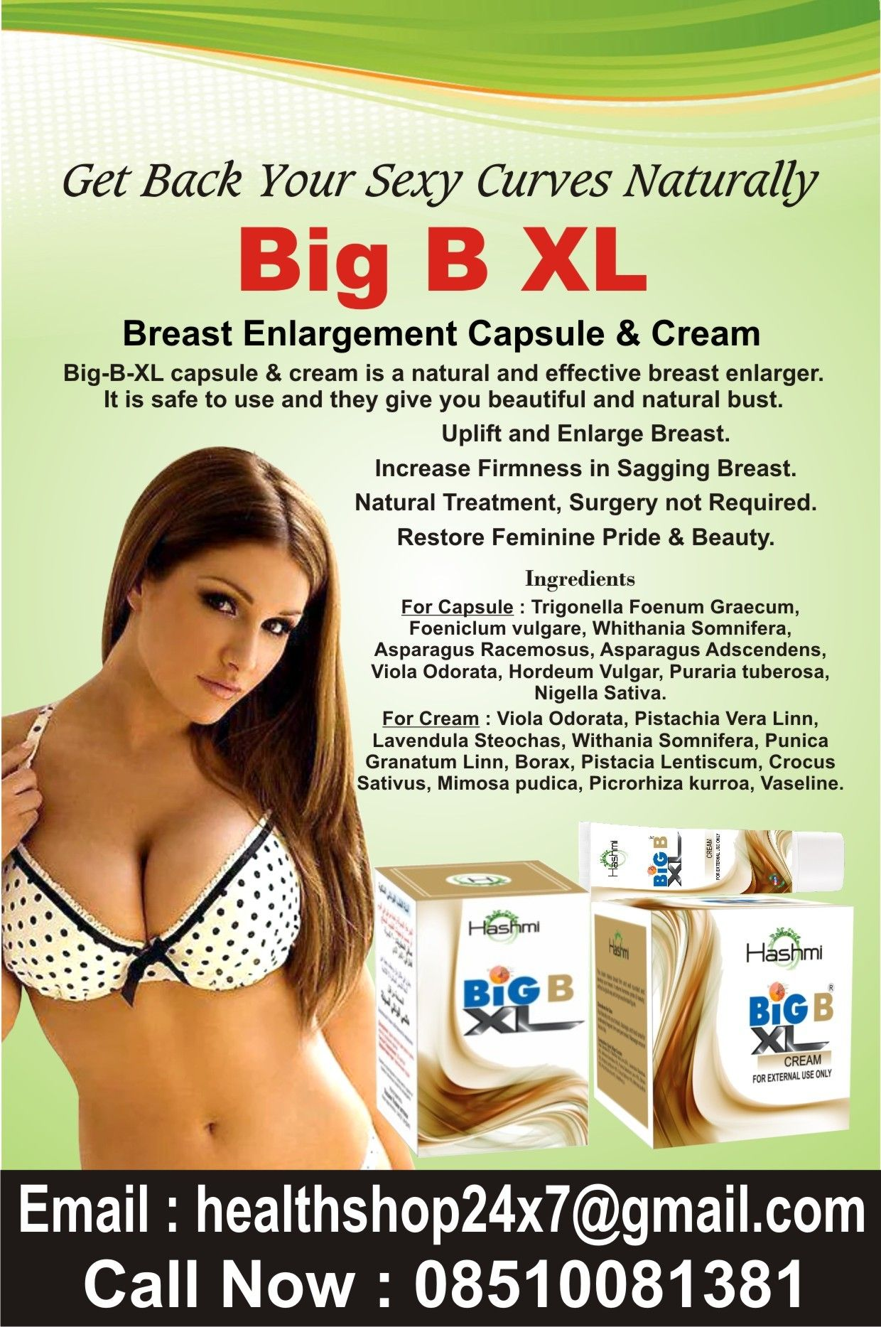 Breast xl enhancement