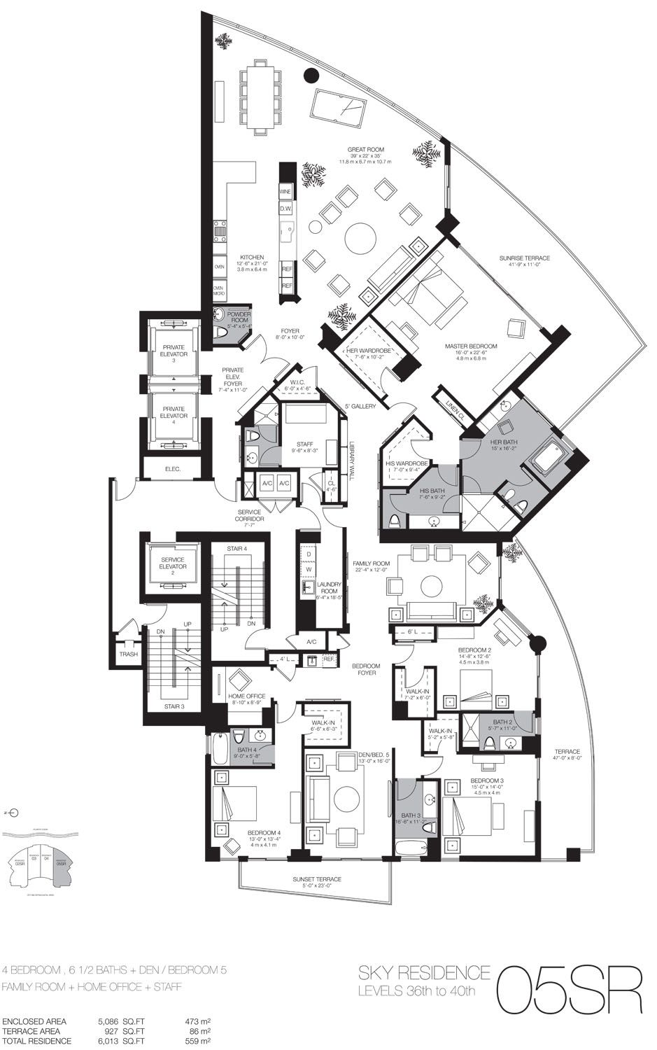 Marvelous Luxury Condominium Floor Plans #7: Luxury Beach Home Floor Plans | Miami Luxury Real Estate Miami Beach Luxury  Homes Condos