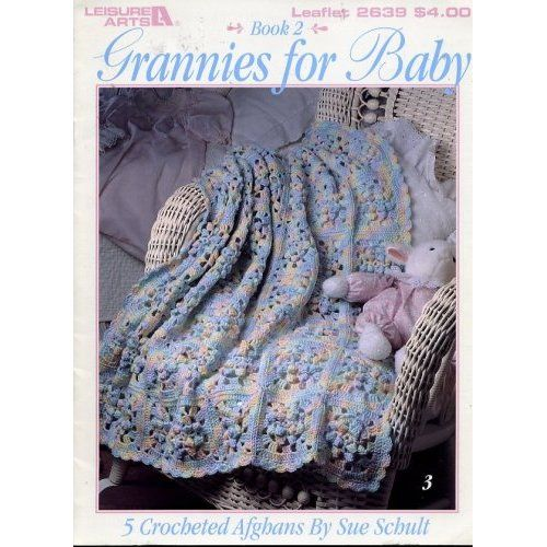 Book 2 5 Crocheted Afghans (Leisure Arts, Leaflet 2639) Sue Schult