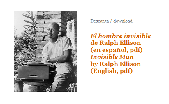 thesis statement for invisible man by ralph ellison