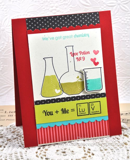 You + Me Card by Dawn McVey for Papertrey Ink (December 2012)