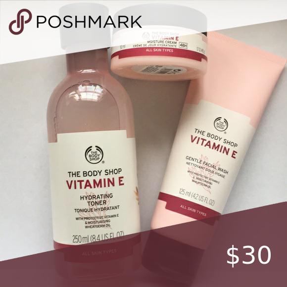 The Body Shop Vitamin E Skin Care In 2020 The Body Shop Body Shop Vitamin E Hydrating Toner