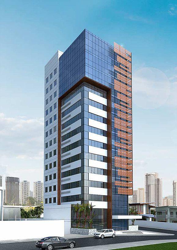 Resultado de imagem para edificios corporativos mais for Fachadas de edificios modernos