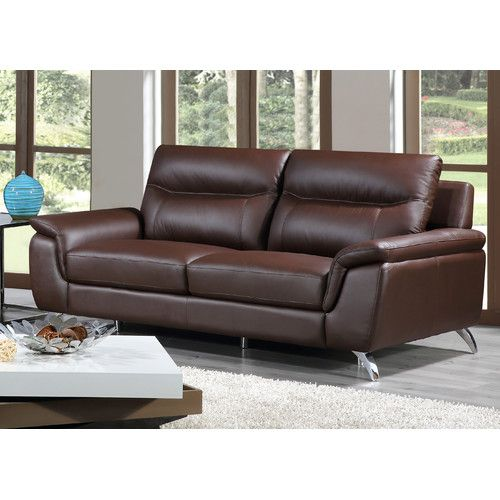 Found It At Wayfair Chicago Leather Sofa