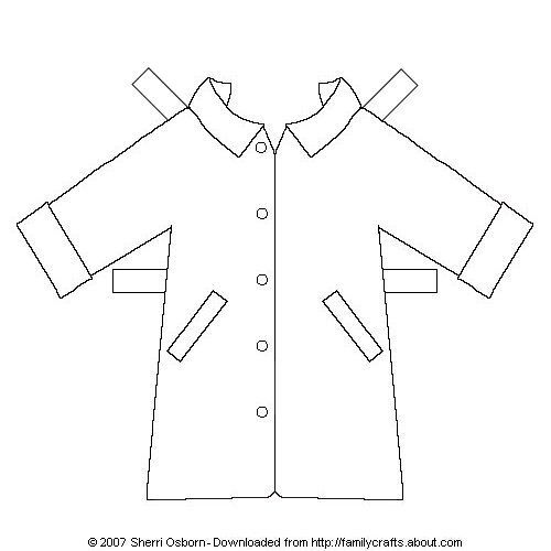 Paper Doll Outerwear  Dolls And Craft