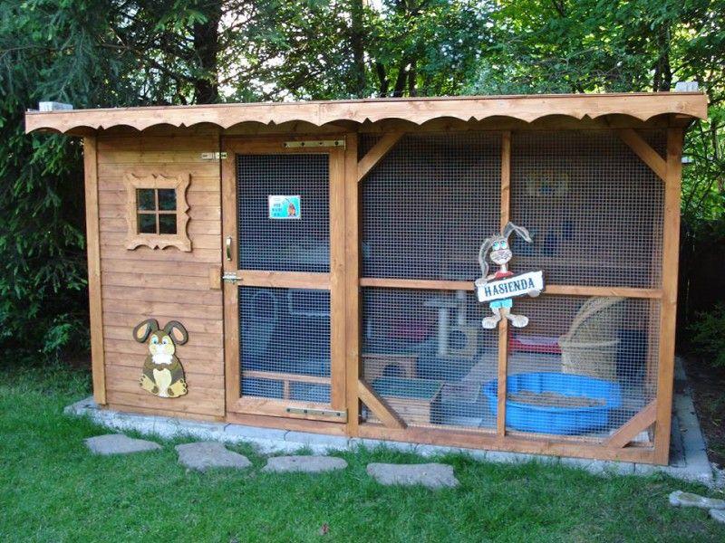 au engehege kaninchen tiere pinterest kaninchen hase und kaninchenstall. Black Bedroom Furniture Sets. Home Design Ideas