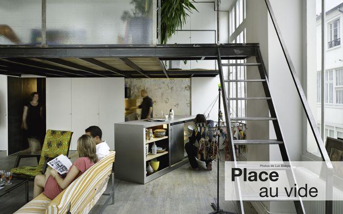Mezzanine Loft loft avec mezzanine architectures à vivre | ideas4myflat