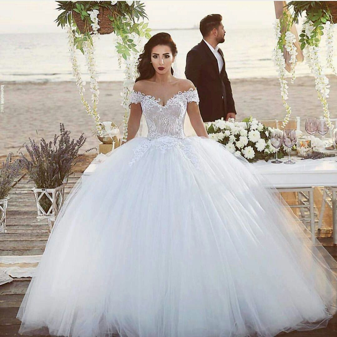 Most Beautiful Ball Gown Wedding Dresses: Pin By Katelyn Wright On Wedding Dresses
