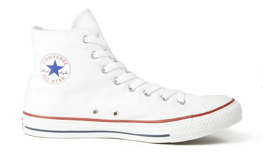 hi top white converse