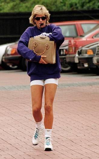 5 times Princess Diana gave us gym kit inspiration #princessdiana