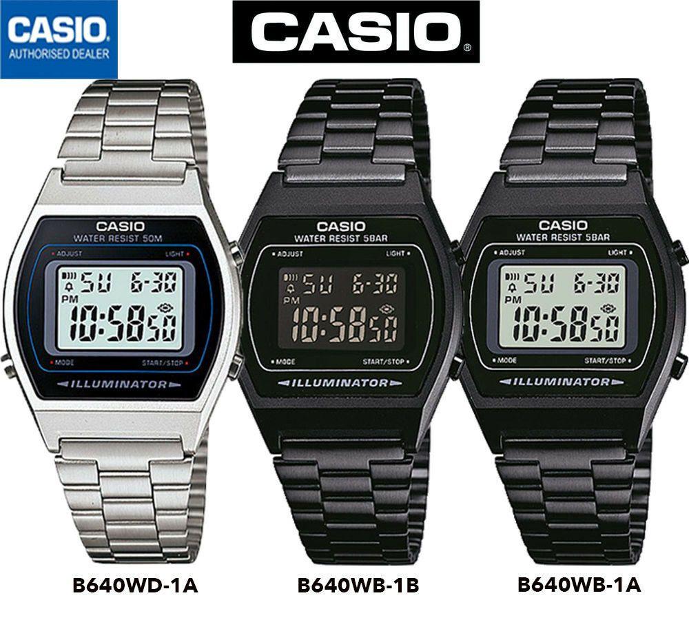 Détails sur CASIO B640WB 1B⎪B640WB 1A⎪B640WD 1A⎪ORIGINAL  mhr5H