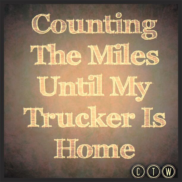 Counting The Miles Truck Driver