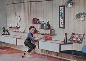 Photo of 1950er Jahre Höhle / Freizeitraum, # 1950er Jahre #denrecreational #Recreationalroom #Room, # 1950er Jahre #denre …