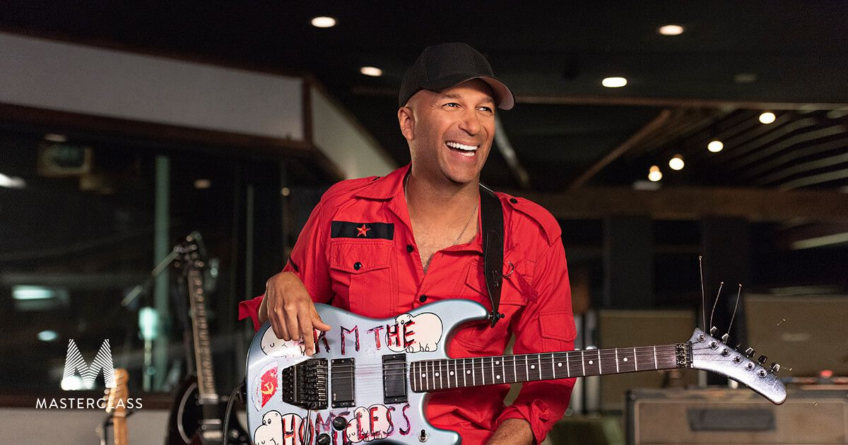 Rage Against the Machine co-founder Tom Morello teaches the riffs and solos  that redefined rock guitar in his first-ever MasterC… | Tom morello, Guitar  kids, Guitar