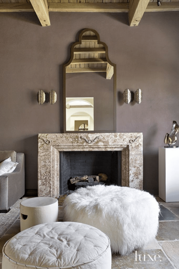 Sherwin Williams Poised Taupe Taupe Living Room Living