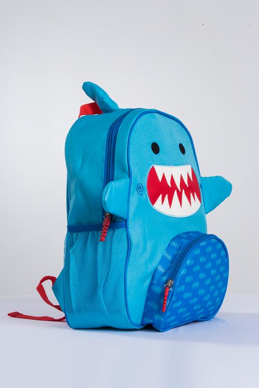 37b475a0bc6d Sherman the Shark Kids Backpack - Blue