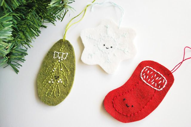 Carosello: Making Christmas - Ornamented Felt Ornaments with Wild Olive