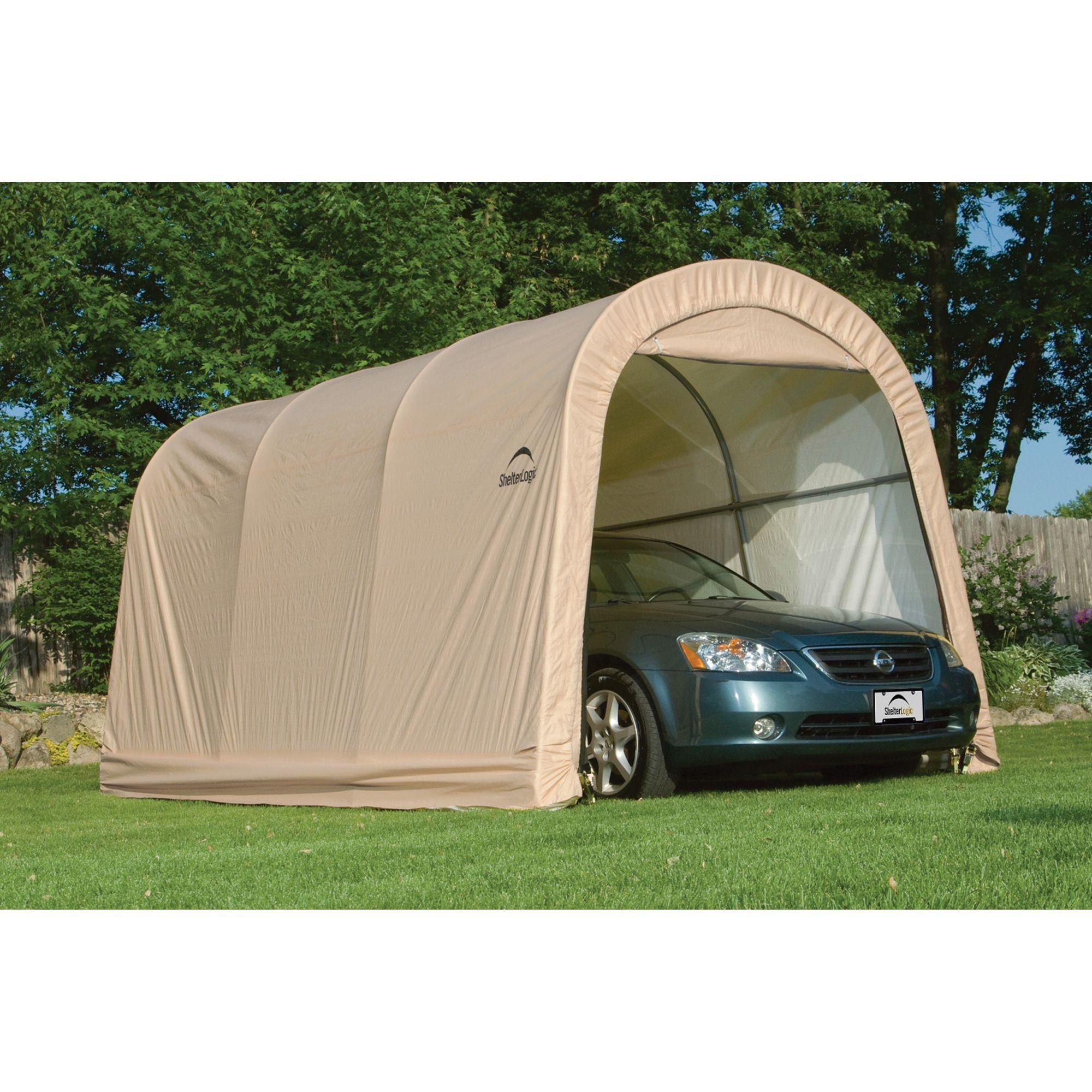 Shelterlogic Autoshelter Roundtop Portable Garage