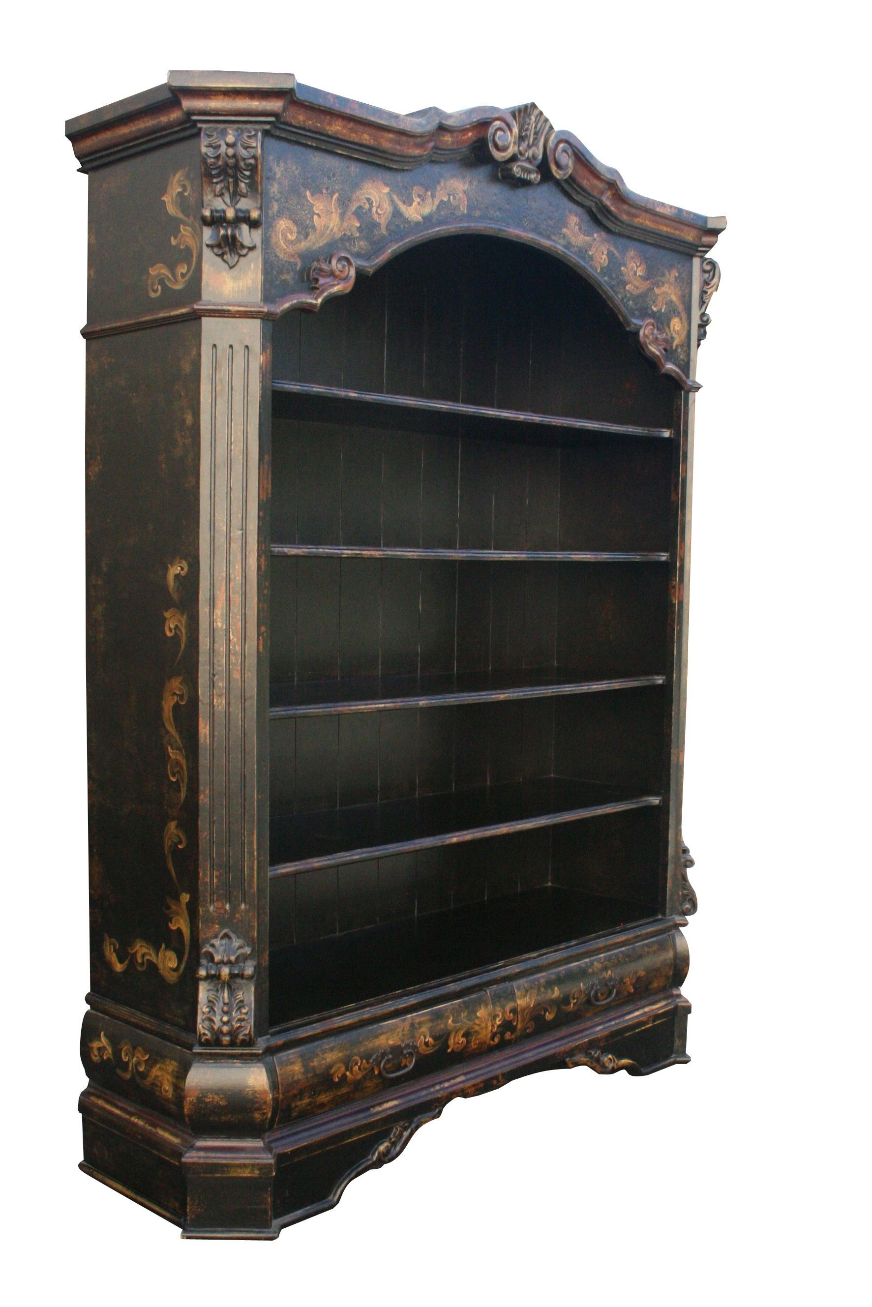 Beautiful Erasmo Bookcase Old World Style Bookcase Tuscan