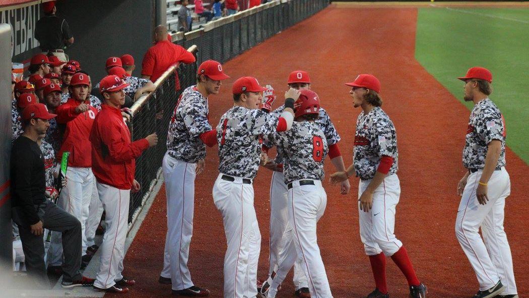 Ohio State Baseball Looking To Boost Its Big Ten Tournament Chances Against Illinois Ohio State Baseball Big Ten Baseball Outfit