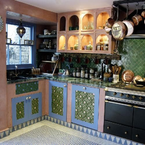Habibi Kitchen Moroccan Kitchen Pink Kitchen Cabinets Bathroom Remodel Pictures