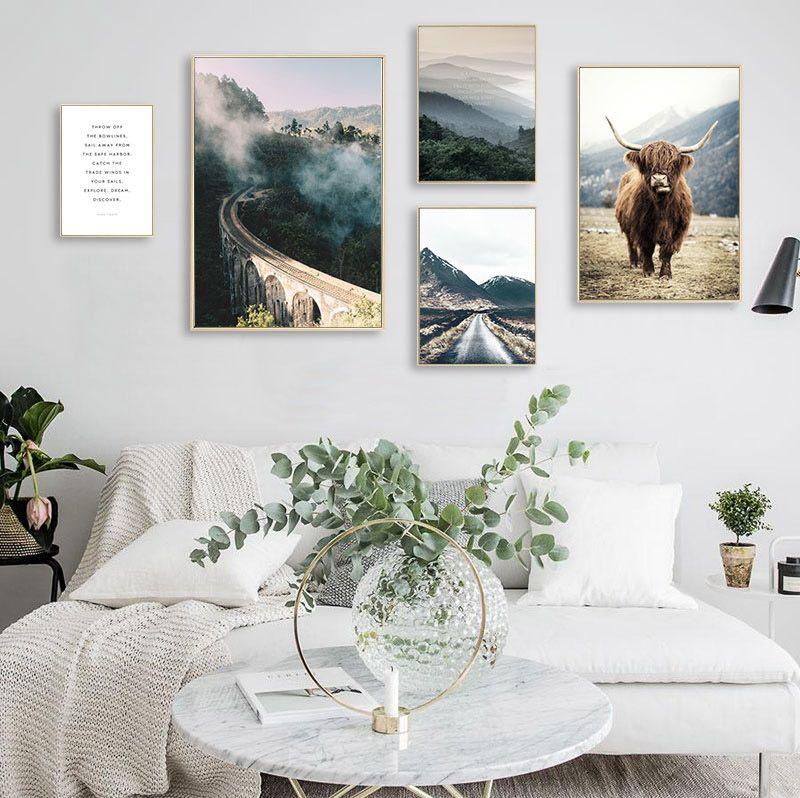 tableau nature toile design images