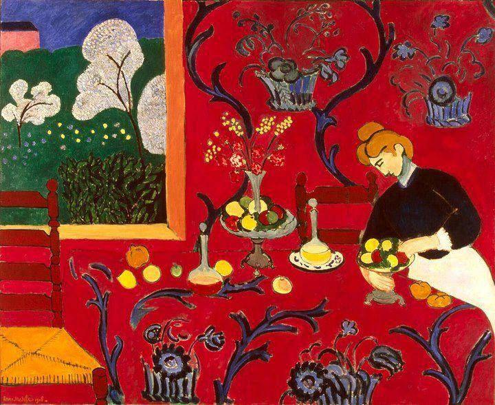 La Stanza Rossa, Matisse, 1908
