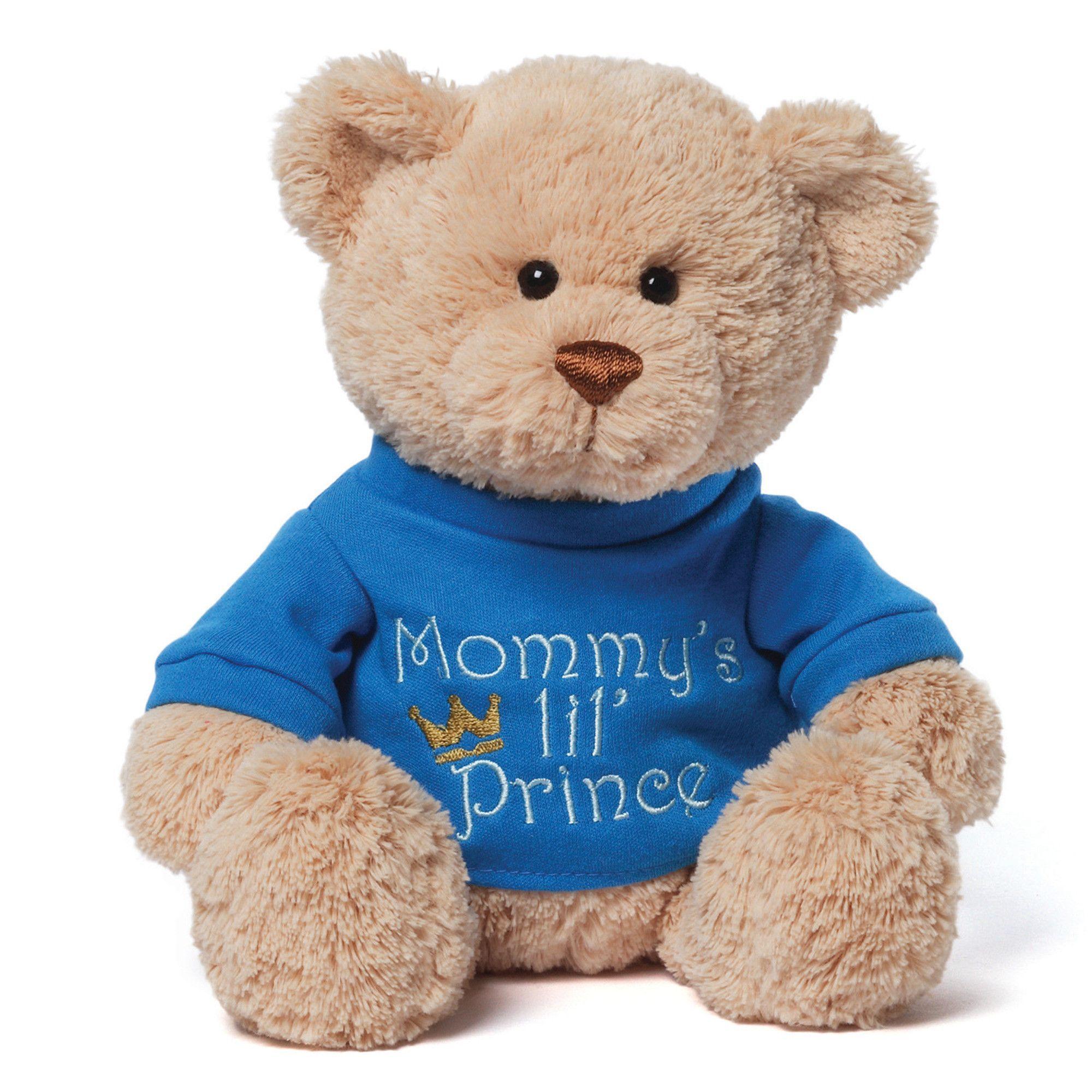 Mommy S Little Prince T Shirt Teddy Bear Stuffed Animal Plush Teddy Bear Stuffed Animal Bear Stuffed Animal Teddy Bear [ 2000 x 2000 Pixel ]