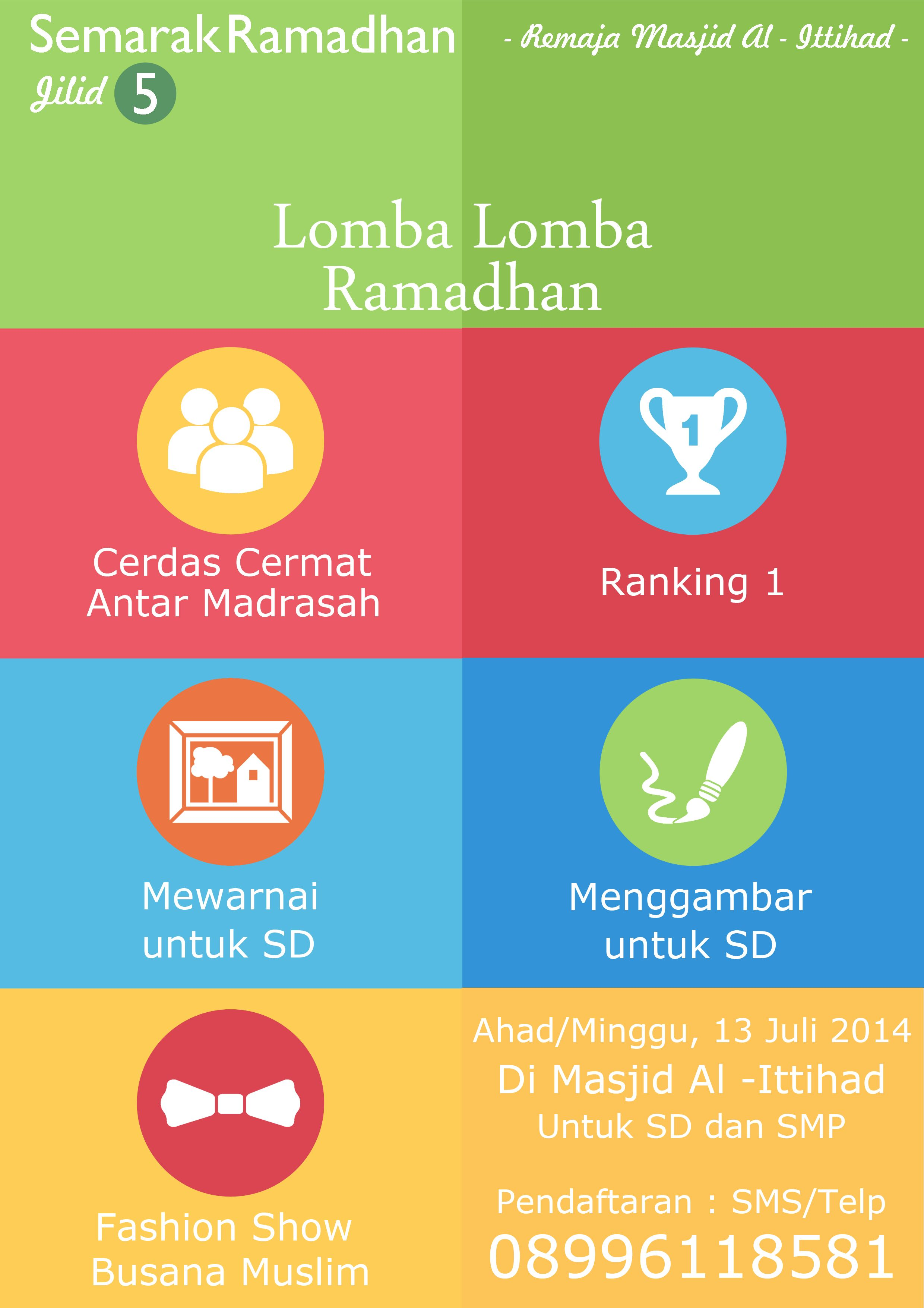 Poster Lomba Lomba Ramadhan Smp Remaja Gambar